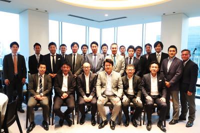 JADRI 第11期社員総会懇親会集合写真